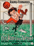 """Movie Posters:Foreign, Les Rois du Sport (Europrodis, R-1970s). French Grande (46"""" X 63""""). Foreign.. ..."""
