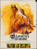 "Movie Posters:Academy Award Winners, Lawrence of Arabia (Columbia, R-1971). French Grande (46"" X 61.5"").Academy Award Winners.. ..."