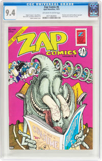 Zap Comix #6 (Apex Novelties, 1973) CGC NM 9.4 Off-white to white pages