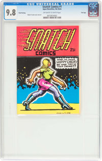 Snatch Comics #1 Third Printing - File Copy (Apex Novelties, 1968) CGC NM/MT 9.8 Off-white to white pages