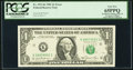 Error Notes:Inking Errors, Fr. 1911-K $1 1981 Federal Reserve Note. PCGS Gem New 65PPQ.. ...