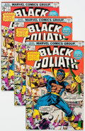 Bronze Age (1970-1979):Superhero, Black Goliath #1-5 Complete Series Multiple Copies Group of 27 (Marvel, 1976) Condition: Average FN+.... (Total: 27 Comic Books)