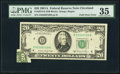 Error Notes:Foldovers, Fr. 2074-D $20 1981A Federal Reserve Note. PMG Choice Very Fine35.. ...