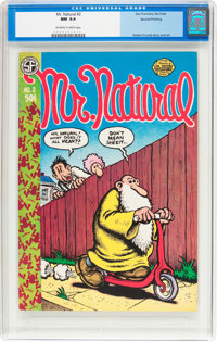 Mr. Natural #2 Second Printing (San Francisco Comic Book Company, 1971) CGC NM 9.4 Off-white to white pages
