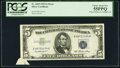 Error Notes:Attached Tabs, Fr. 1655 $5 1953 Silver Certificate. PCGS Choice About New 55PPQ.....