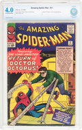Silver Age (1956-1969):Superhero, The Amazing Spider-Man #11 (Marvel, 1964) CBCS VG 4.0 Off-white pages....