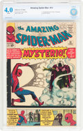 Silver Age (1956-1969):Superhero, The Amazing Spider-Man #13 (Marvel, 1964) CBCS VG 4.0 White pages....
