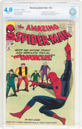 Silver Age (1956-1969):Superhero, The Amazing Spider-Man #10 (Marvel, 1964) CBCS VG 4.0 White pages....