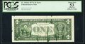 Error Notes:Ink Smears, Fr. 1910-A $1 1977A Federal Reserve Note. PCGS Apparent About New53.. ...