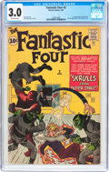 Silver Age (1956-1969):Superhero, Fantastic Four #2 (Marvel, 1962) CGC GD/VG 3.0 Off-white pages....