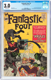 Fantastic Four #2 (Marvel, 1962) CGC GD/VG 3.0 Off-white pages