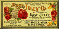 Obsoletes By State:Maryland, New Midway, MD- Rose Jelly Co. $10 Advertising Note ND Vlack 1505. ...