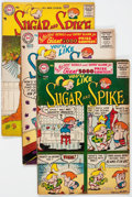 Silver Age (1956-1969):Humor, Sugar and Spike #3-9 Group (DC, 1956-57) Condition: Average VG-.... (Total: 7 Comic Books)