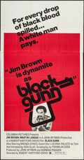 "Movie Posters:Blaxploitation, Black Gunn & Other Lot (Columbia, 1972). Three Sheets (2) (41""X 79""). Blaxploitation.. ... (Total: 2 Items)"
