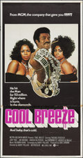 "Movie Posters:Blaxploitation, Cool Breeze (MGM, 1972). Three Sheet (41"" X 7 8.5"").Blaxploitation.. ..."