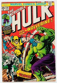 The Incredible Hulk #181 (Marvel, 1974) Condition: GD/VG