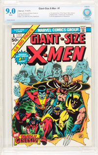 Giant-Size X-Men #1 (Marvel, 1975) CBCS VF/NM 9.0 White pages