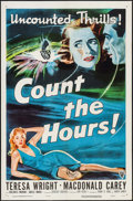 "Movie Posters:Crime, Count the Hours (RKO, 1953). One Sheet (27"" X 41""). Crime.. ..."