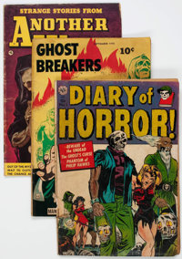 Comic Books - Golden-Bronze Age Horror Comics Group of 26 (Various Publishers, 1948-75) Condition: Average GD+.... (Tota...