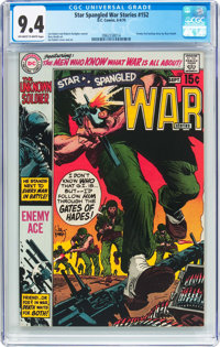 Star Spangled War Stories #152 (DC, 1970) CGC NM 9.4 Off-white to white pages