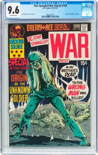 Star Spangled War Stories #154 (DC, 1971) CGC NM+ 9.6 Off-white pages