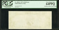 Error Notes:Blank Reverse (100%), Fr. 2024-C $10 1977A Federal Reserve Note. PCGS Very Choice New 64PPQ.. ...