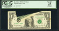 Error Notes:Printed Tears, Fr. 1922-I $1 1995 Federal Reserve Note. PCGS Apparent Very Fine25.. ...
