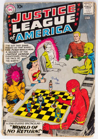 Justice League of America #1 (DC, 1960) Condition: FR