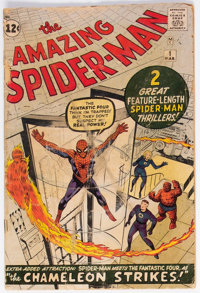 The Amazing Spider-Man #1 (Marvel, 1963) Condition: FR