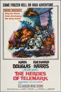"""Movie Posters:War, The Heroes of Telemark & Other Lot (Columbia, 1966). One Sheet(27"""" X 41"""") & Three Sheet (41"""" X 78.5""""). War.. ... (Total: 2Items)"""