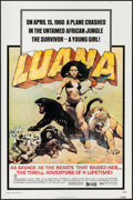 "Movie Posters:Adventure, Luana & Others Lot (Capital Productions, 1973). One Sheets (2)(27"" X 41""), Mini Poster (11"" X 17""), Television Poster (16"" ...(Total: 10 Items)"