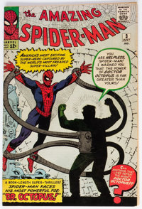 The Amazing Spider-Man #3 (Marvel, 1963) Condition: Apparent GD+