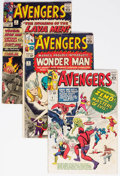 Silver Age (1956-1969):Superhero, The Avengers Group of 15 (Marvel, 1964-72) Condition: Average GD/VG.... (Total: 15 Comic Books)