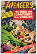 Silver Age (1956-1969):Superhero, The Avengers #3 (Marvel, 1964) Condition: GD....
