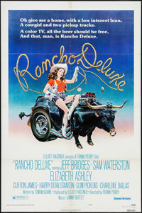 "Rancho Deluxe & Others Lot (United Artists, 1975). One Sheets (5) (27"" X 41"") Style B. Comedy. ... (To..."