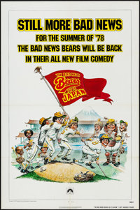 "Bad News Bears Go to Japan & Others Lot (Paramount, 1978). One Sheets (2) (27"" X 41"") & Lobby Card Set..."