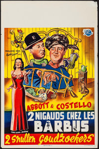 "Comin' Round the Mountain (Universal International, 1951). Belgian (14"" X 21.5""). Comedy"