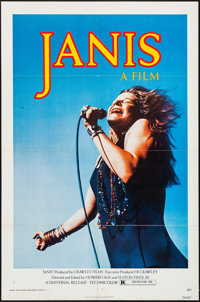 """Janis (Universal, 1975). One Sheet (27"""" X 41""""). Rock and Roll"""