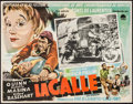 """Movie Posters:Foreign, La Strada & Other Lot (Paramount, 1956). Mexican Lobby Card (12.5"""" X 16.25"""") & French Grande (46"""" X 62""""). Foreign.. ... (Total: 2 Items)"""
