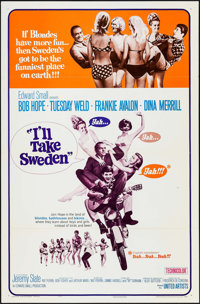"""I'll Take Sweden & Others Lot (United Artists, 1965). One Sheets (7) (27"""" X 41"""") Two Styles. Comedy. ... (..."""