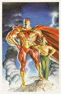 "Original Comic Art:Covers, Alex Ross - ""Prime"" Paperback Cover Original Art (undated)...."