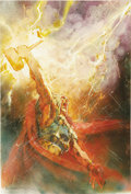 Original Comic Art:Covers, Bill Sienkiewicz - Thor #75 Cover Original Art (Marvel, 2004)....