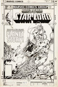 Original Comic Art:Covers, Tom Sutton - Marvel Premiere #61 Star-Lord Cover (Marvel, 1981).....
