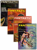 Pulps:Science Fiction, Fantastic Group (Ziff-Davis, 1961-62) Condition: Average FN....