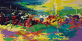 Prints:Contemporary, LEROY NEIMAN (American b. 1926). Kentucky Derby, 1979.Silkscreen print. 21 x 42 inches (53.3 x 106.7 cm). Ed.: 168/300...