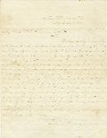 Military & Patriotic:Civil War, WILLIAM T. SHERMAN: AUTOGRAPH LETTER SIGNED....