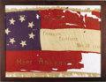 Military & Patriotic:Civil War, FLAG UNITED DAUGHTERS OF CONFEDERACY, CLEBURNE CHAPTER FRANKLIN, TENNESSEE....