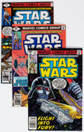 Modern Age (1980-Present):Science Fiction, Star Wars Box Lot (Marvel, 1979-81) Condition: Average GD/VG....