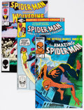 Modern Age (1980-Present):Superhero, Spider-Man Related Box Lot (Marvel, 1980s) Condition: AverageVF/NM....
