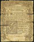 Colonial Notes, Connecticut June 7, 1776 1s Very Good.. ...